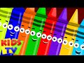Crayons Ten In The Bed Crayons Color Song Learn Crayons Colors Nursery Rhymes Kids Tv mp3