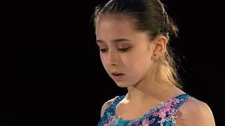 Камила Валиева самый красивый номер ПОКАЗАТЕЛЬНЫЕ ЗОЛОТО чемпионат мира юниоры 2020