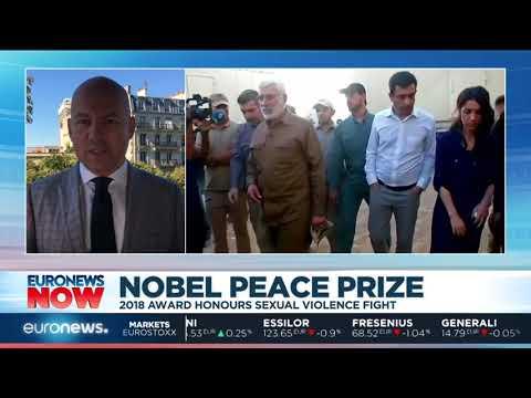 #EuronewsNow   2018 Nobel Peace Prize...