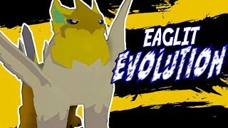 EAGLIT FINAL EVOLUTION | LOOMIAN LEGACY IN ROBLOX | iBeMaine