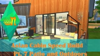 The Sims 4 Asian Cabin Build Part 7