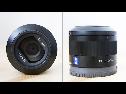 Sony 35mm F2.8 Sonnar T* FE Review - A7S Photo and Video