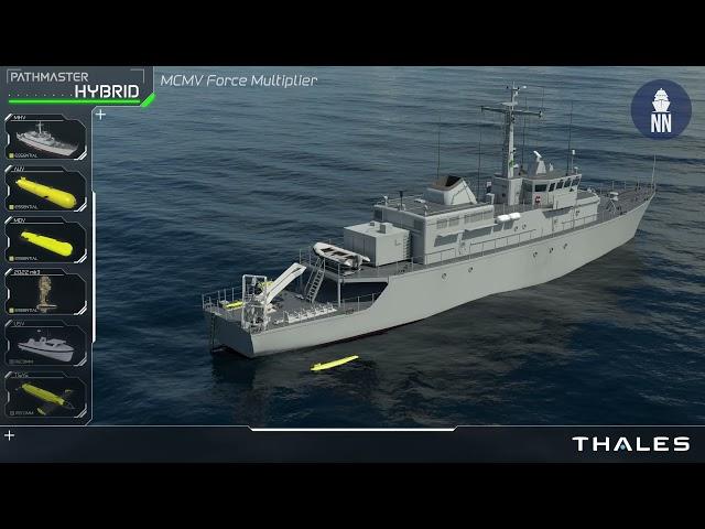 Thales Mi-Map: AI-assisted Mine Warfare