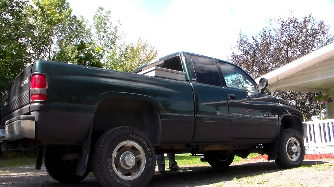 1998 Dodge Ram 2500 V10 Strait Pipe