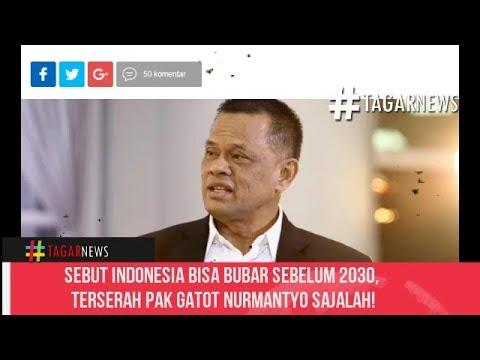 Sebut Indonesia Bisa Bubar Sebelum 2030, Terserah Pak Gatot Nurmantyo Sajalah!