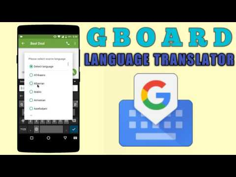 How to Translate language using Google Keyboard | GBOARD