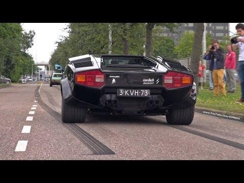Lamborghini Countach 5000S - Exhaust Sounds!