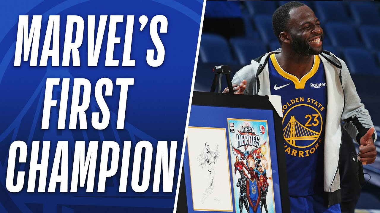 Draymond Green becomes Marvel's first #ArenaOfHeroes Champion!