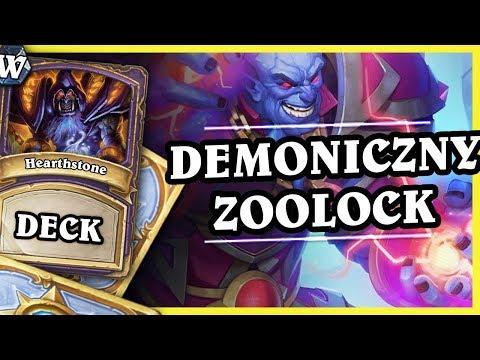 NIESPODZIANKA! - DEMONICZNY ZOOLOCK - Hearthstone Deck Wild (Witchwood)