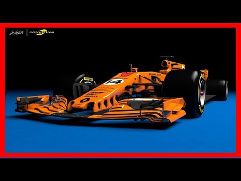 Breaking News   What a papaya orange 2018 mclaren-renault f1 car could look like