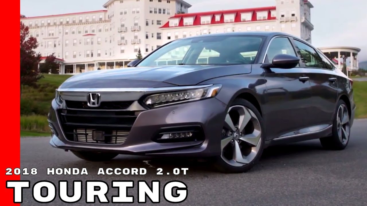 2018 Honda Accord 2 0t Touring