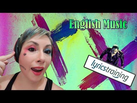 Practicing English with LyricsTraining.com