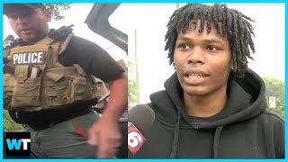 Black Man Arrested For SITTING IN HIS OWN CAR?!