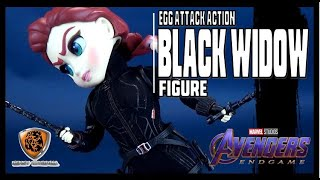 Beast Kingdom Avengers: Endgame Egg Attack Action Black Widow PX Previews Exclusive | Video Review