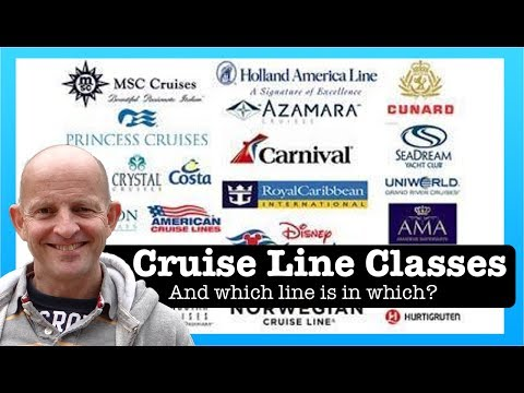 Cruise Tips: 4 Different Cruise Line Classes and Grades (and which line is in each)
