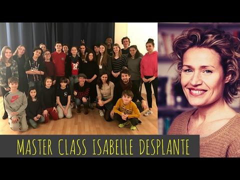 Elie& Hana// MASTER CLASS- ISA DESPLANTE Mere&fille + Plus belle la vie