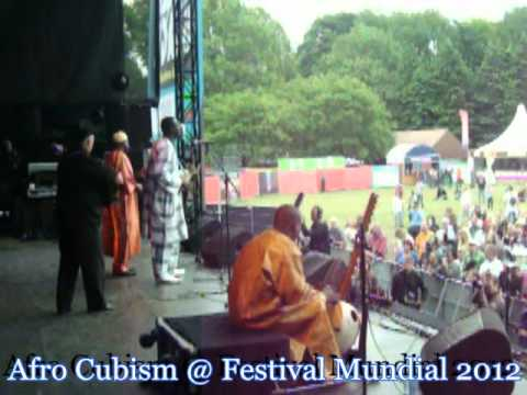 AFRO CUBISM @ FESTIVAL MUNDIAL 2012