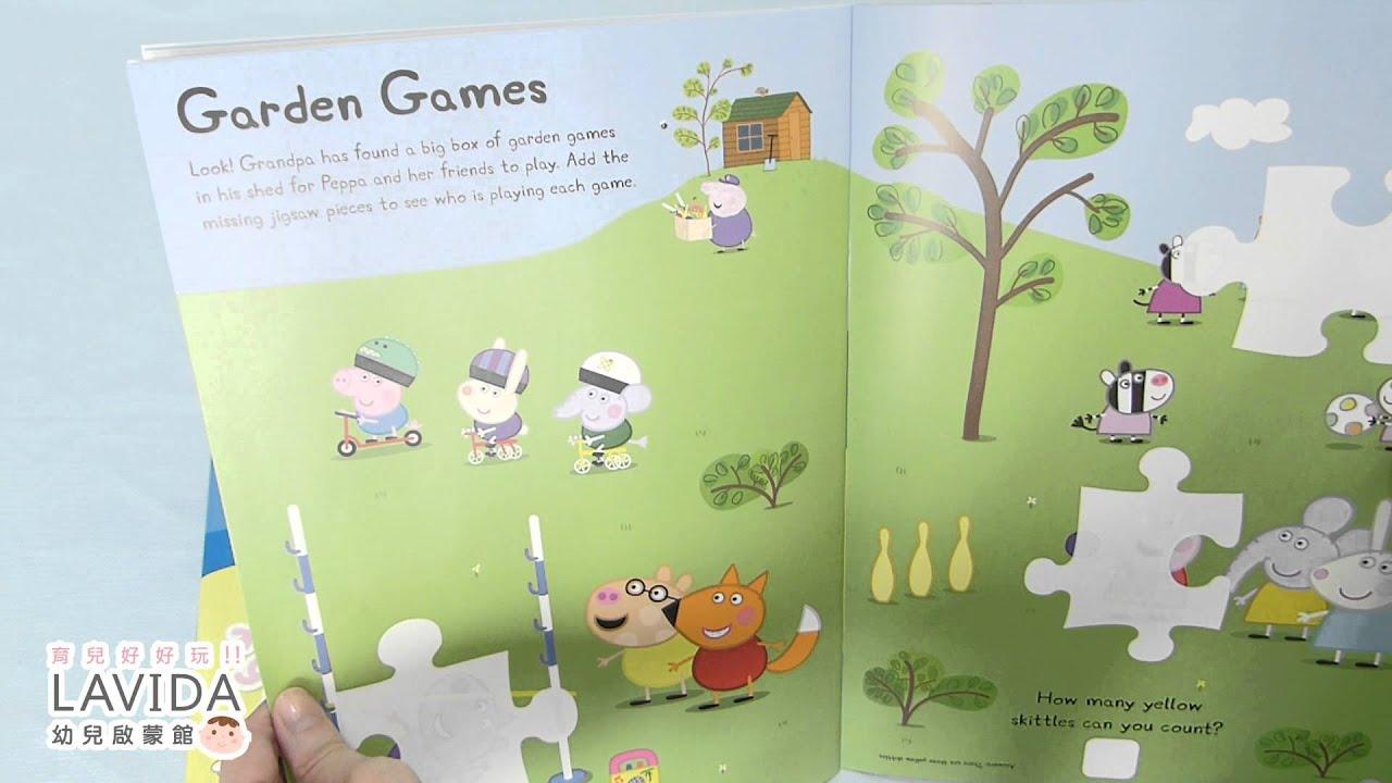 Peppa Pig:Summer Fun! Sticker Activity Book 粉紅豬小妹:歡樂夏季貼紙遊戲書 - YouTube