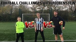 Gambar cover FOOTBALL CHALLENGES WITH ROOBENSTEIN!!