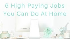 6 Ways to Earn SIX FIGURES Working from Home