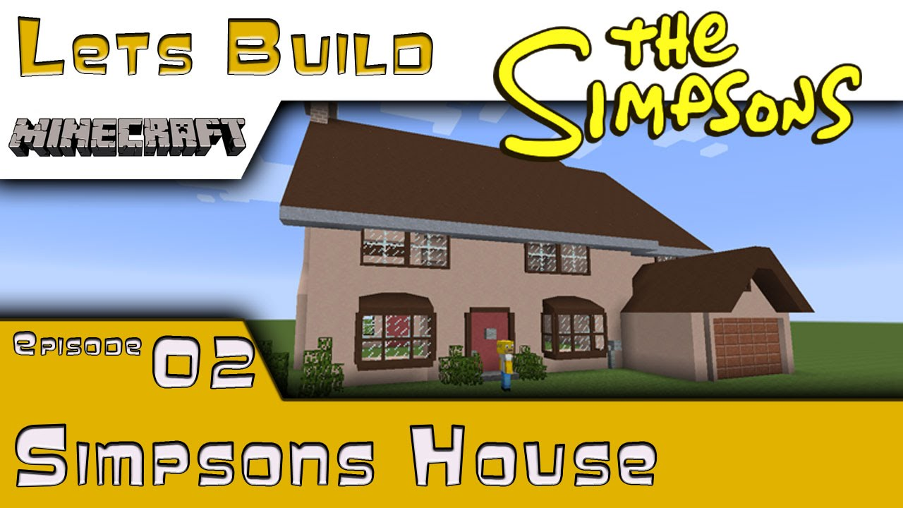 Minecraft :: Springfield Lets Build :: Simpsons House :: E12