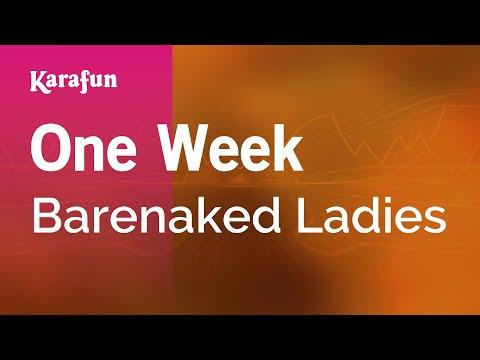 Karaoke One Week - Barenaked Ladies *