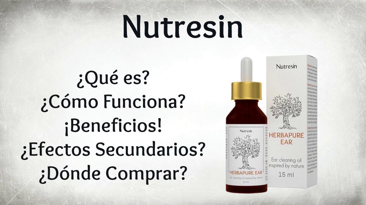 Nutresin - Herbapure Ear ¿Dónde Comprar al Mejor Precio?