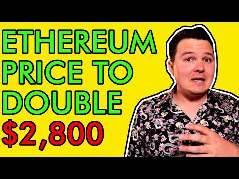 URGENT ETHEREUM UPDATE! PRICE TO DOUBLE TO $2,800 VERY SOON! [Bullish]