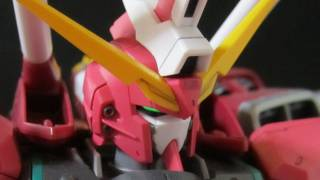 MG Infinite Justice (Part 3: MS) ∞ Gundam Seed Destiny gunpla review