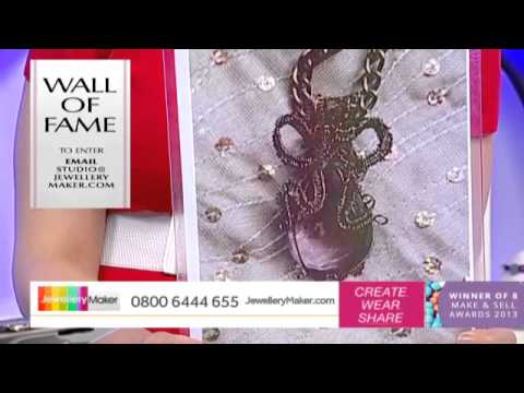 How To Make Polymer Clay Jewellery - JewelleryMaker LIVE (AM) 25/01/2015