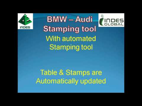 Automated Stamping Tool for fixture detailing in CATIA