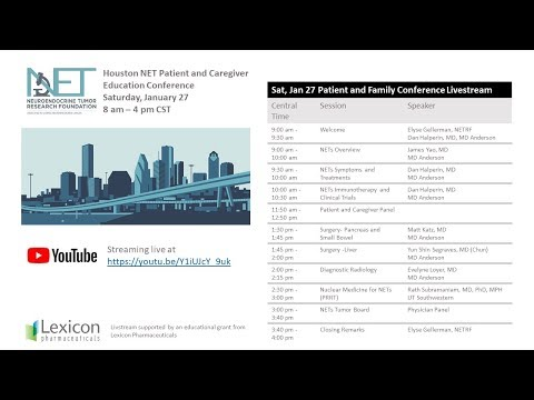 Houston Patient & Caregiver Education Conference (Recorded Livestream)