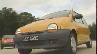 Renault Twingo I (Test - Essai - Reportage) FR 1992
