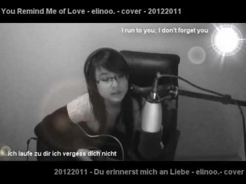 Du erinnerst mich an Liebe - Ich + Ich - (elinoo.-cover) with LYRICS