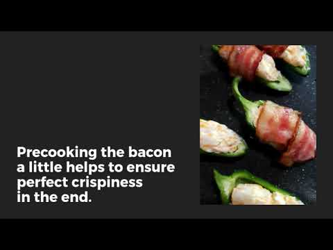 Easy Bacon Wrapped Jalapeno Poppers - Julia's Simply Southern