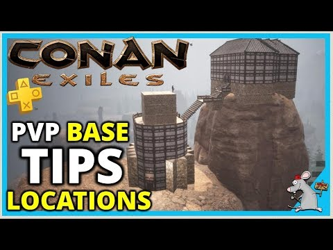 CONAN EXILES Tips | Base Locations - Where To Build A Base PS4/Xbox PVP Guide