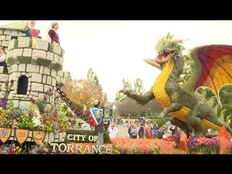 2017 City of Torrance Tournament of Roses Float Special hosted by Julie Chan