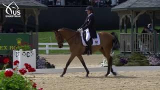 Lauren Kieffer & Vermiculus Dressage 2017 Rolex Kentucky Three-Day Event