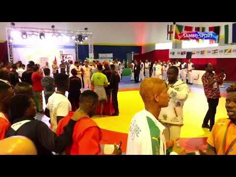 African SAMBO Championships. Day 2. FINALS
