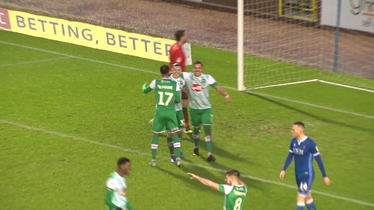 Карлайл Юнайтед  0-3  Плимут Аргайл видео