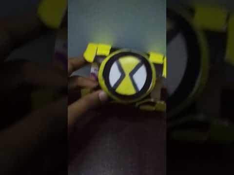 New ben 10 Omnitrix homemade