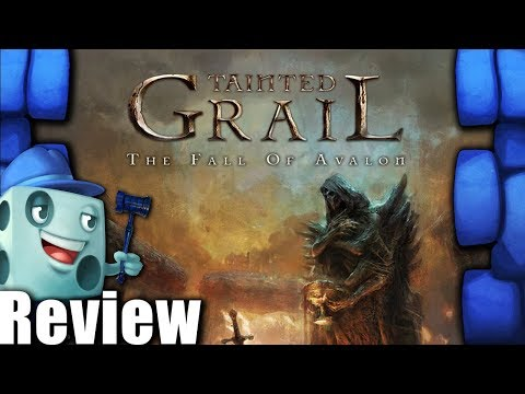 Tainted Grail: The Fall of Avalon Review - with Tom Vasel