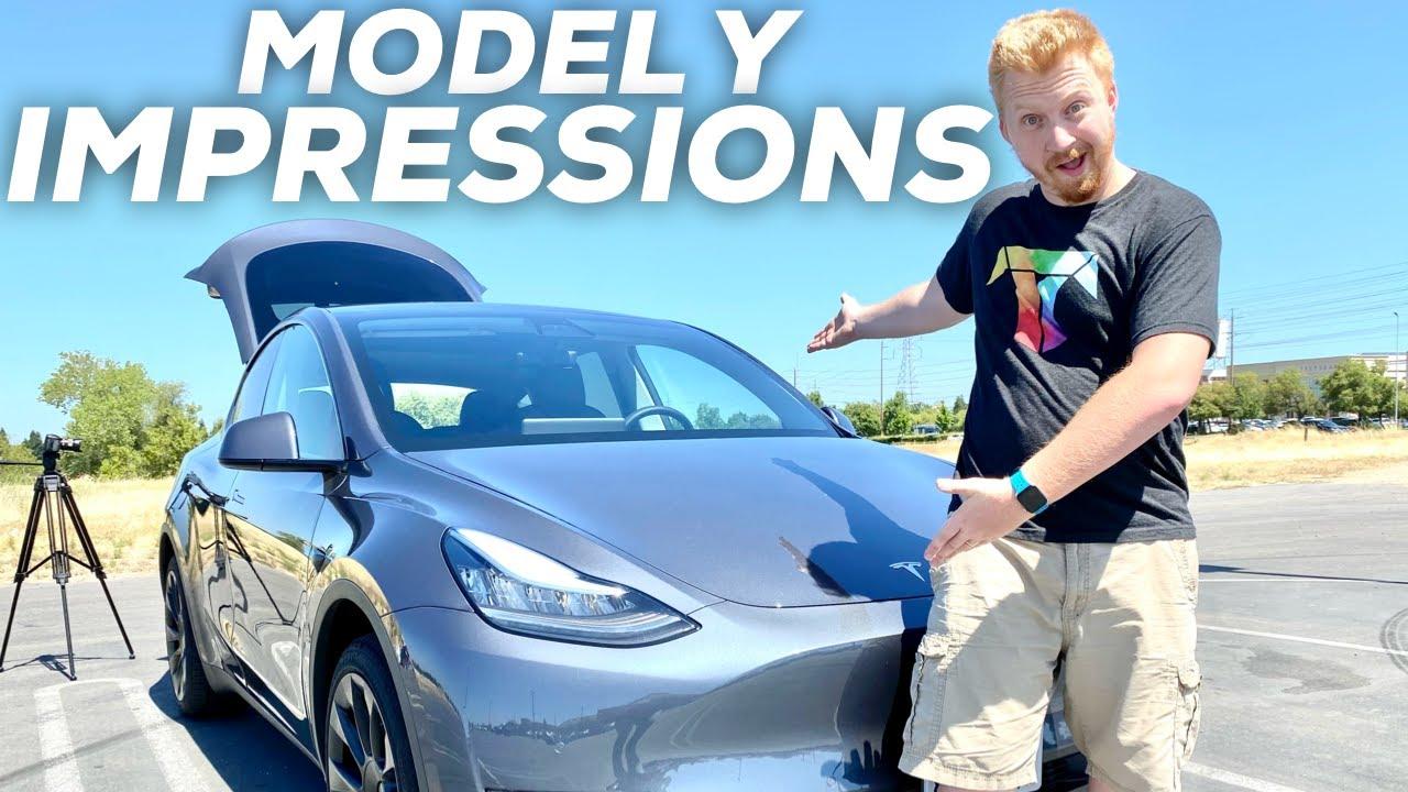 My Tesla Model Y Impressions