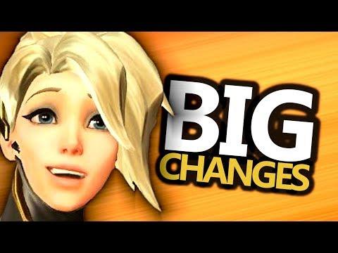 HUGE Mercy Rework & D.Va Changes...Tomorrow! (Overwatch) Patch 1.15 Details
