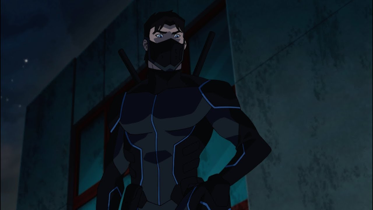 Young justice outsiders season 3 nightwing clip youtube - Pictures of nightwing from young justice ...