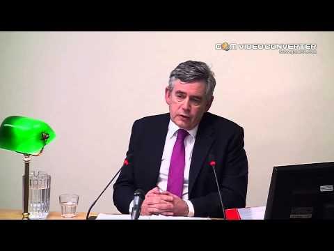 Gordon Brown LEVESON INQUIRY