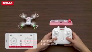 Tutorial pentru  Drona Syma X22W