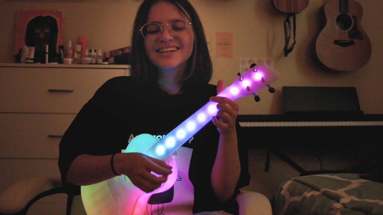we fell in love in october - girl in red | LED ukulele cover