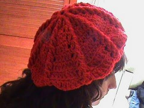 1 DE 3 COMO TEJER GORRO BOINA MEDIANA GANCHILLO CROCHET - YouTube 3f1350fd6f3