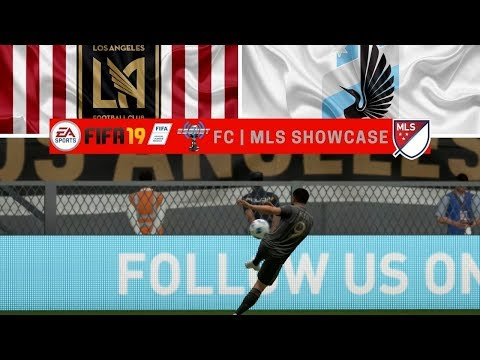 FIFA '19 | ESGNet FC | MLS Showcase | LAFC vs. Minnesota United FC